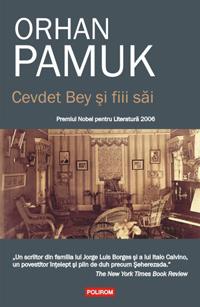 Cevdet Bey şi fiii săi, Orhan Pamuk, Polirom