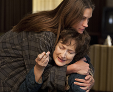MERYL STREEP, JULIA ROBERTS, AUGUST: OSAGE COUNTY